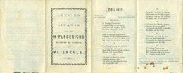 Loflied En Litanie Van Den H. Fledericus Stichter En Patroon Van Vlierzele - Religion & Esotérisme