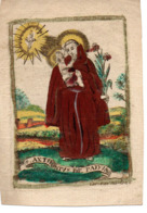 Image Pieuse 18e S S.Antonius De Padua - Devotieprenten