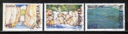 CEPT 2001 AL MI 2809-11 USED ALBANIA - 2001