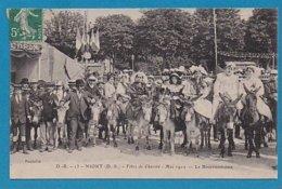 79 Deux-Sèvres Niort Fetes De Charité Mai 1912 Le Bourricodrome Cachet 1912 - Niort
