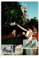 OBLITERATION 11 EME SALON DES OISEAUX PARIS - Commemorative Postmarks