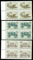 1972 Art Treasures From Wagenburg,Luge,Coronation Carriage,Imperial,1406 X4,MNH - Stage-Coaches
