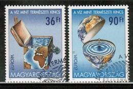 CEPT 2001 HU MI 4674-75 HUNGARY USED - 2001