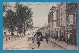 85 Vendée Fontenay Le Comte Rue De La Republique Ed Garnier Couleur - Fontenay Le Comte