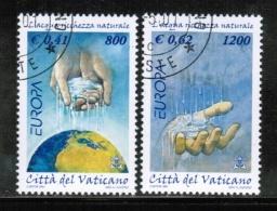 CEPT 2001 VA MI 1372-73 USED VATICAN - 2001