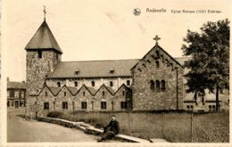 N°77369 -cpa Andenelle -église Romane- - Andenne