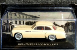 DELAHAYE 235 COACH 1952 - NEUF Sous Blister & Boîte Plastique - Cars & 4-wheels