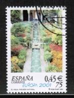 CEPT 2001 ES MI 3629 USED SPAIN - 2001