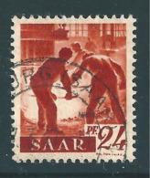 Saar MiNr. 215 VI   (r10) - Usados