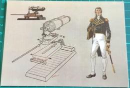 American Naval Officer, War Of 1812 ~ & ~ 32 Pounder Carronade - Regiments