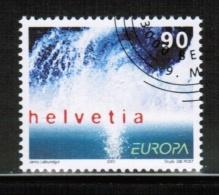 CEPT 2001 CH MI 1757 USED SWITZERLAND - Europa-CEPT