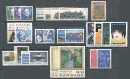 DANEMARK - Année Complète 1991 ** - TB - Danimarca