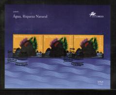 CEPT 2001 AZORES MI BL 21 USED - 2001