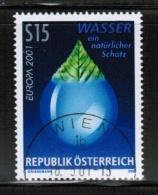 CEPT 2001 AT MI 2344 USED AUSTRIA - 2001