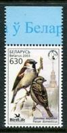 BELARUS 2003 Bird Of The Year MNH /**.  Michel 484 - Bielorussia