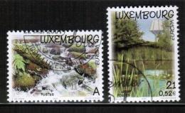 CEPT 2001 LU MI 1530-31 USED LUXEMBOURG - 2001