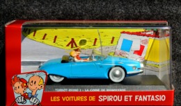 Turbot Rhino 1 Spirou Et Fantasio Par Franquin - NEUF Boîte Plastique & Carton - Voitures, Camions, Bus