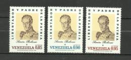 Venezuela ** Mnh 1970  SIMON BOLIVAR - Venezuela