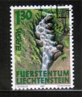 CEPT 2001 LI MI 1255 USED LICHTENSTEIN - 2001
