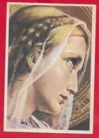 CARTOLINA VG ITALIA - Vergine Maria - Madonna - Studentato Missioni BOLOGNA - 10 X 15 - 1954 VENEZIA - Vergine Maria E Madonne