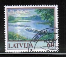 CEPT 2001 LV MI 544 USED LATVIA - Europa-CEPT