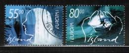 CEPT 2001 IS MI 981-82 USED ICELAND - 2001