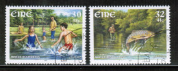 CEPT 2001 IE MI 1337-38 USED IRELAND - Europa-CEPT