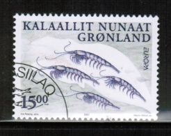 CEPT 2001 GL MI 368 USED GREENLAND - 2001