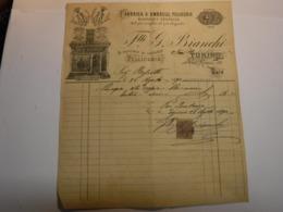 TORINO --     FRATELLI  G. BIANCHI  -- FABBRICA DI OMBRELLI , PELLICCERIE - Italia