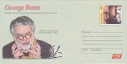 ROUMANIE, Entier-Postal Neuf George Banu, Theatre, Cinema,  2018 - Theatre