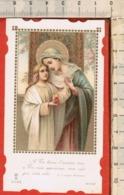 "Antico Santino Lega Eucaristica ""Ossequio A MARIA Santissima"" N.9098-Mediolani 1905 - Religion & Esotericism"