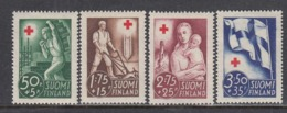 Finland 1941 - Red Cross, Mi-Nr. 233/36, MNH** - Finland