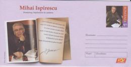 ROUMANIE, Entier-Postal Neuf Mihai Ispirescu, Theatre, Cinema,  2018 - Theatre