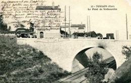 TOULON  =  Le Pont De Valbourdin   975 - Toulon