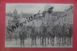 Cp La Cavalerie Allemande Sur  La Place Jules Ferry à St Dié N 2 - Saint Die