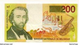 BN De Belgique - Billet De 200 Francs - NEUF - UNC - Undated - Adolphe Sax 1994-1997. - [ 2] 1831-... : Reino De Bélgica