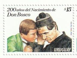 Uruguay - 200 Años Nacimiento Don Bosco 2015 1 V Mnh - Uruguay