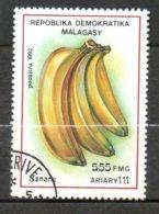 MADAGASCAR Bananes 1992 N°1057 - Madagaskar (1960-...)