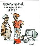 B57796 CPM Illustrateur Tignous  - L'enfant Et Le 3e Millénaire - Künstlerkarten