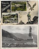 ITALIE TARVISIO 2 CPA SALUTI ET MONUMENTO - Italy