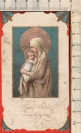 """Antico Santino Lega Eucaristica """"Mater Christi - N.9051"""" Litanie Lauretane - Religion & Esotericism"""