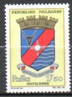 MADAGASCAR  Armoirie 1963-64 N°388 - Madagaskar (1960-...)