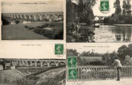 18. 4 CPA. SAINT FLORENT SUR CHER.  Le Viaduc. - Saint-Florent-sur-Cher