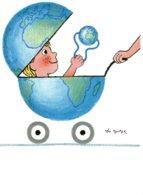 B57801 CPM Illustrateur  Léo Kouper - L'enfant Et Le 3e Millénaire - Künstlerkarten