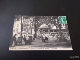 CPA (38) Allevard-Les-Bains. Le Parc Et Le Kiosque De Musique.  (E2020) - Allevard