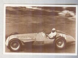 FANGIO SU ALFA......PILOTA....AUTO..CAR....VOITURE....CORSE...FORMULA 1 UNO - Automobile - F1