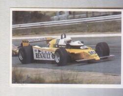 ARNOUX SU RENAULT......PILOTA....AUTO..CAR....VOITURE....CORSE...FORMULA 1 UNO - Car Racing - F1