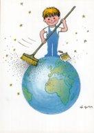 B57803 CPM Illustrateur  Léo Kouper - L'enfant Et Le 3e Millénaire - Künstlerkarten