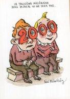 B57804 CPM Illustrateur  Rémi Malingrey - L'enfant Et Le 3e Millénaire - Künstlerkarten