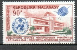 MADAGASCAR P Aérienne  Météorologie 1964 N°95 - Madagaskar (1960-...)